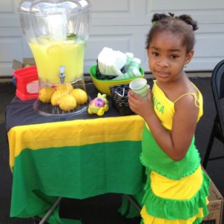 Our Daycare Garage and Lemonade Sale  – I am not a Hoarder