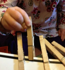Clothespin – Helps Fine Motor Development