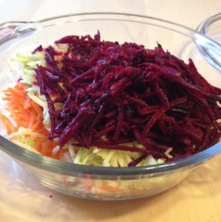 Beets and Turnip Salad Helps Boost my Busy Days