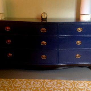 Upcycling an Old Dresser to a Pottery Barn Look Alike