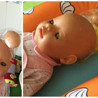 Using Egg to Demonstrate – How Delicate is a Babies Head?