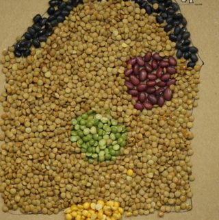 Decorate Your Classroom With This Quick Fall Art Using Dried Beans
